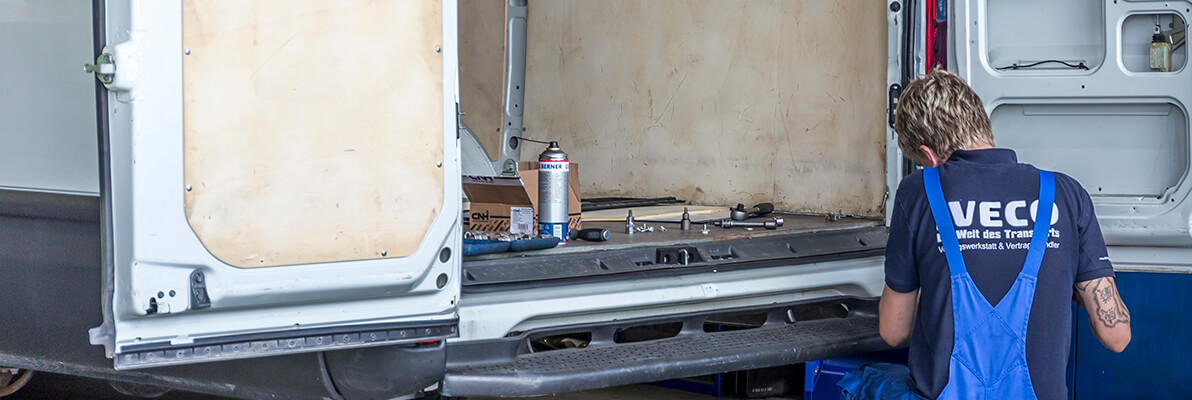 Wartung eines IVECO Daily